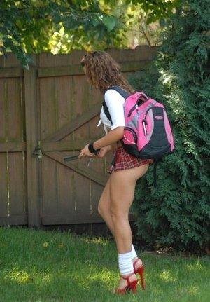 Schoolgirl Pussy Porn Pics